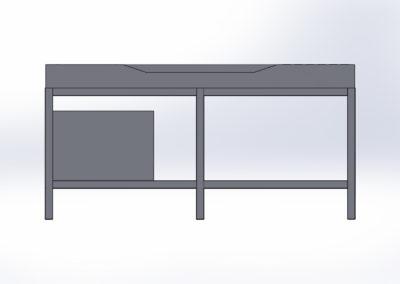 Mycí stůl - pohled 5 - kopie
